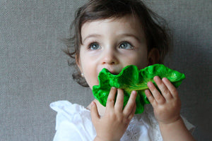 Kale Natural Rubber Toy,OliandCarol  - Wild Dill