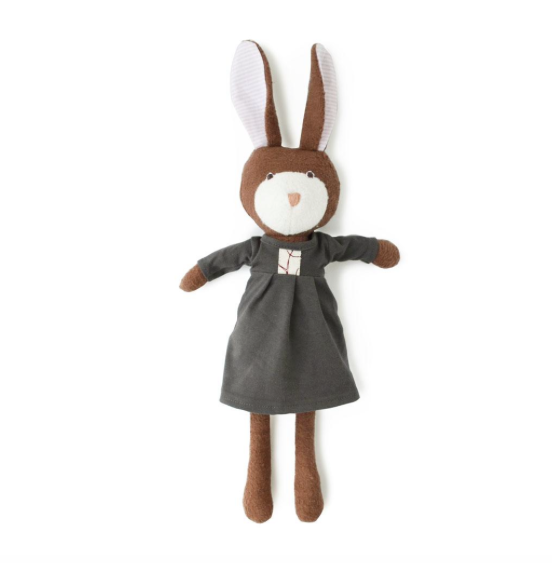 Hazel Village Organic Zoe Rabbit Doll,Hazel Village  - Wild Dill