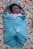 Mezoome Organic Baby Bunting Bag , Sleep Sacks - Mezoome Designs, Wild Dill  - 3