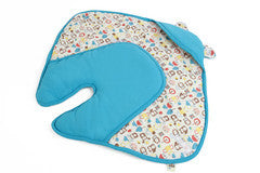 Mezoome Organic Baby Bunting Bag turquoise, Sleep Sacks - Mezoome Designs, Wild Dill  - 3