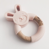 Bunny Ring Teether - Blush Pink,Pretty Please Boutique  - Wild Dill
