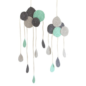 BEBEMOSS, LLC - Wall Decor Hanging Clouds,BEBEMOSS, LLC  - Wild Dill