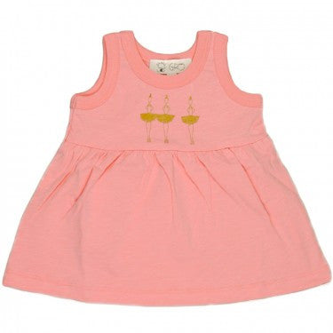 Ballerina Baby Dress,Gro  - Wild Dill