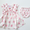 Sonia Fair Trade Dress with Bloomers,Cheeni Girls  - Wild Dill