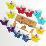 Origami Butterfly Hair Clips , Accessories - moran alhalel, Wild Dill  - 8