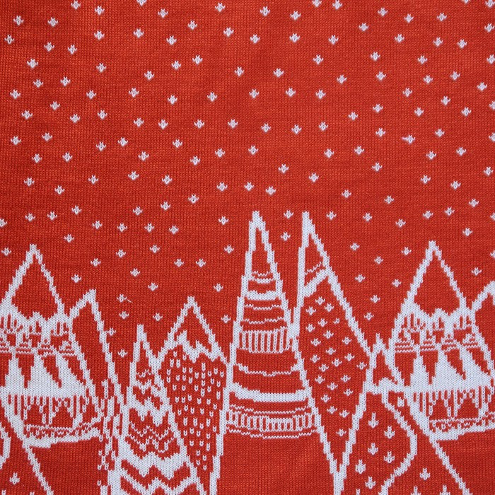 Red Mountain Dress- Merino Wool , Dresses - Perfect Days, Wild Dill  - 2