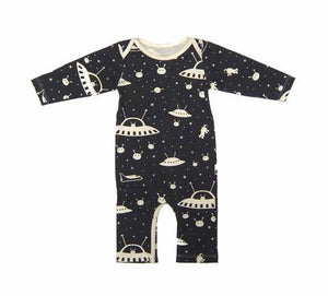 Outer Space Jumpsuit by Winter Water Factory,Winter Water Factory  - Wild Dill