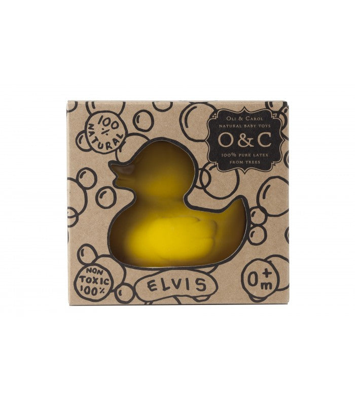 Natural Rubber Ducky - Yellow,Oli & Carol  - Wild Dill