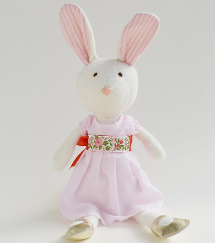 Hazel Village Emma Organic Rabbit - Limited Edition Dress , Play - Hazel Village, Wild Dill  - 1