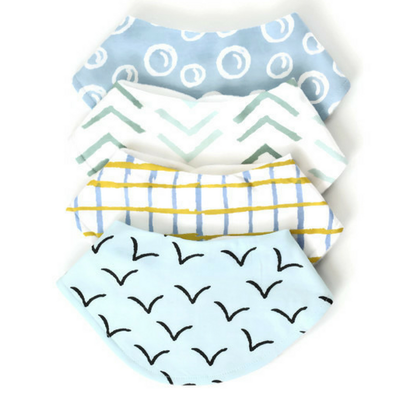 Dolly Lana - Baby bandana bibs - flight,Dolly Lana  - Wild Dill