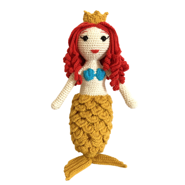 Azalea the Mermaid, Crochet Doll