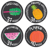 Growing Garden Pregnancy Belly Stickers , milestone stickers - Lucy Darling, Wild Dill  - 2