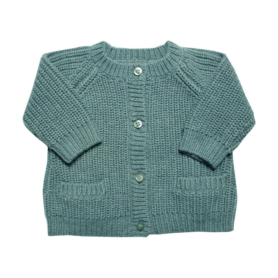 La Petite Collection Blue Cardigan,La Petite Collection  - Wild Dill
