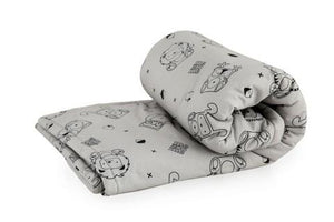 Woodland Minimal Pattern Padded Baby Blanket,Mezoome Designs  - Wild Dill