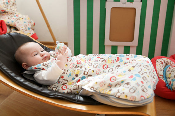 Mezoome Organic Cotton Sleep Sack , Sleep Sacks - Mezoome Designs, Wild Dill  - 4