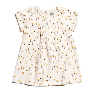 Winter Water Factory Yellow Florence Tulips Dress,Winter Water Factory  - Wild Dill