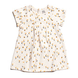 Winter Water Factory Yellow Florence Tulips Dress