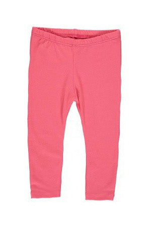 Imps & Elfs Organic Cotton Pink Leggings 12m, Baby Wear - Imps & Elfs, Wild Dill  - 1