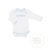 Livly Days of the Week  Bodysuit Gift Set , Baby Wear - livly, Wild Dill  - 4