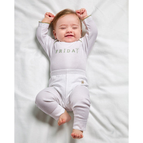 Livly Days of the Week  Bodysuit Gift Set , Baby Wear - livly, Wild Dill  - 1