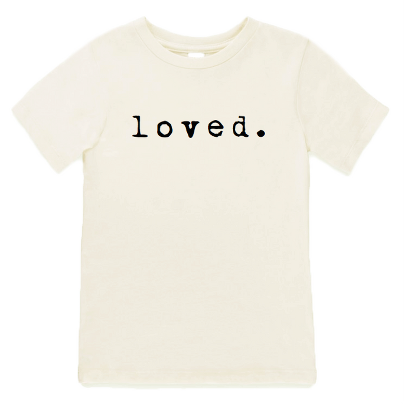 LOVED. Organic Tee,Tenth and Pine  - Wild Dill