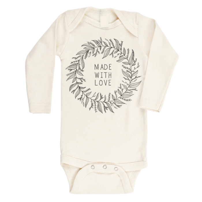 Made with Love - Organic Long sleeve Onepiece