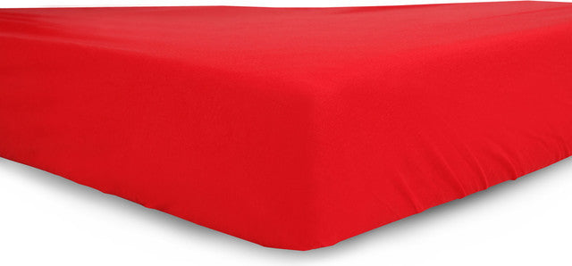 Red  Egyptian Cotton Fitted Crib Sheet , Crib Bedding - Mezoome Designs, Wild Dill  - 1