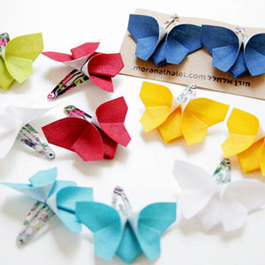Butterfly Hair Clips - Assorted Colors,moran alhalel  - Wild Dill