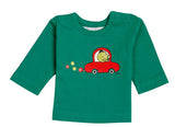 Ideo Flower Car Green Long Sleeve Organic Tee,Ideo  - Wild Dill
