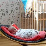 Mezoome Muslin Swaddle Blanket , Crib Bedding - Mezoome Designs, Wild Dill  - 3