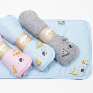 Babysoy Two Tone Socks (0-6m)