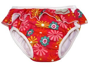 Pink Daisy Girls Swim Diaper , Accessories - Imse Vimse, Wild Dill