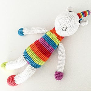 Unicorn Fair Trade Knit Rattle