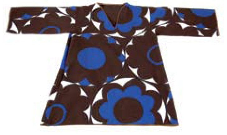 Zid Zid Kids Brown Girls Floral Tunic,Zid Zid Kids  - Wild Dill