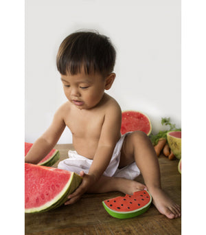 Watermelon Natural Rubber Toy,OliandCarol  - Wild Dill