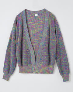 """Daria"" Women Cotton Space-dyed Knitted Cardigan"