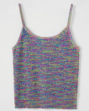 "Load image into Gallery viewer, ""Demi"" Women Cotton Space-dyed Knitted Vest Top"