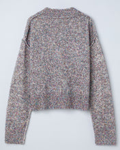 "Load image into Gallery viewer, ""Lucia"" Metallic Cotton Blend Knitted Cardigan"