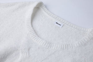 """Rylee"" ECO Polyester Knitted Cable Pullover"