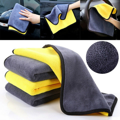 Automotive Cleaning Kit Double Side Microfiber Cloth Set
