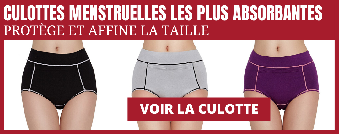 culotte menstruelle plus absorbante