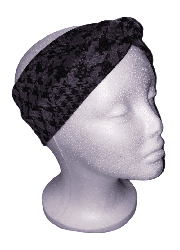 Be Bold Black- Twisty Turban Headband