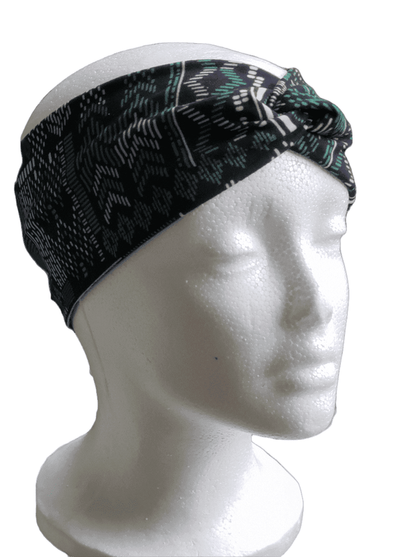 Tribal Print- Twisty Turban Headband