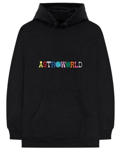 ASTROWORLD EMBROIDERED LOGO HOODIE (LIMITED EDITION)
