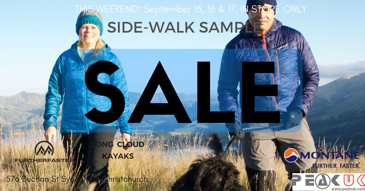 SIDE WALK SAMPLE SALE!!!!