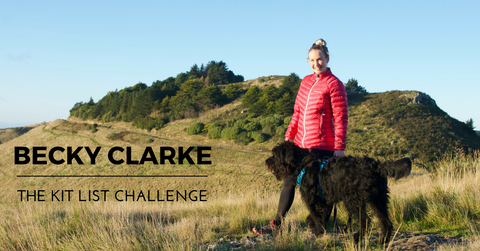 BECKY CLARKE SPING CHALLENGE KIT LIST