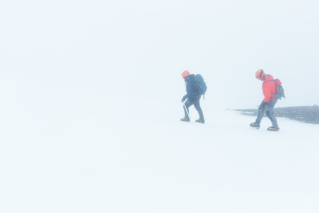 crampons and technical walking