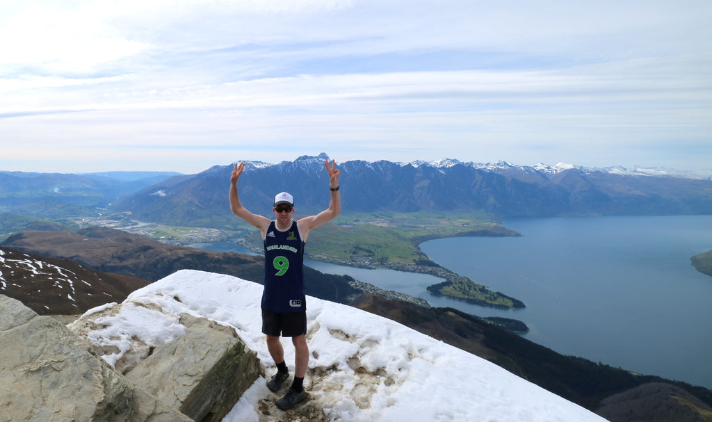 Finished!! 7 summits in 7 days New Zealand