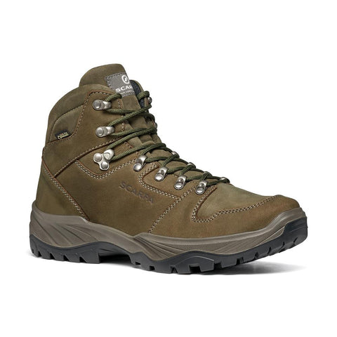 Mens leather hiking boots