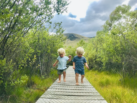 toddlers go exploring NZ